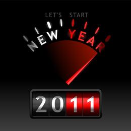 2011 Vector Creative Fonts