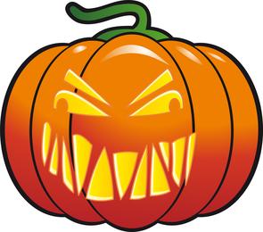 Abóbora de halloween do vetor