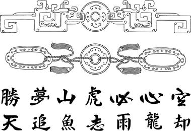 Los cinco vectores clásicos chinos