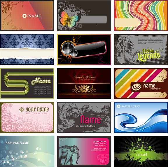 Vector Trend Of Card