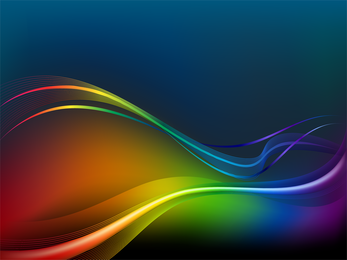 Bright Dynamic Flow Line 02 Vector
