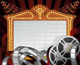 2 clip-art tema de filme