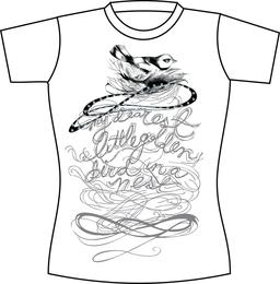 Kostenlose Vektor-T-Shirt-Vorlage 05