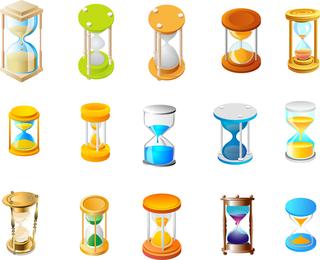 15 Reloj de arena vector libre