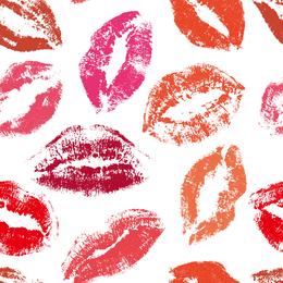 Vector libre de arte gráfico beso
