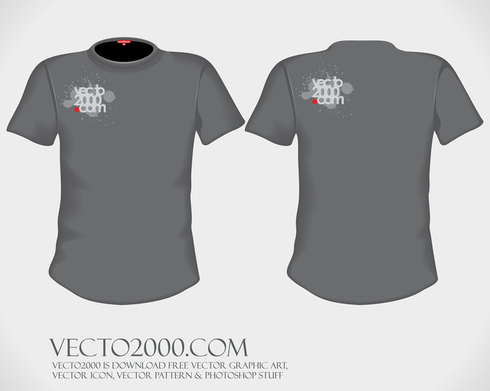 Vector Ilration T Shirt Design Template For Men