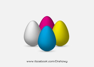 Huevos Vectores