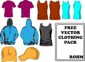 Pack de modelos de roupas
