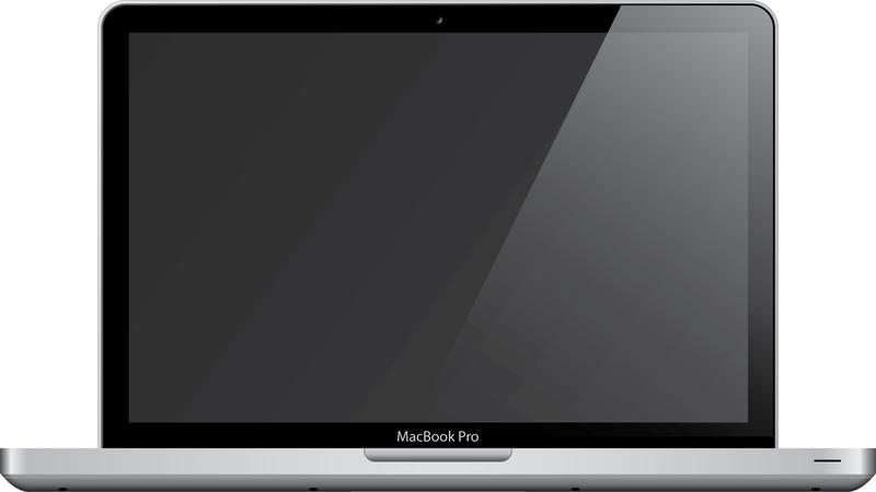 Mac Laptop Graphic Designer Public Domain