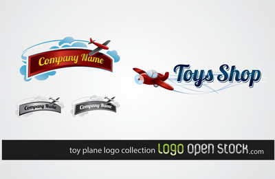 Toy Plane Logo Collection
