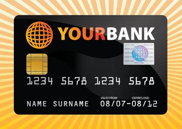 Kostenlose Kreditkarte Vektor
