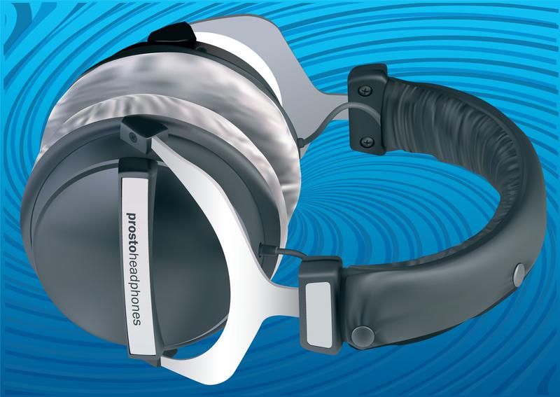 3d Headphones Vector
