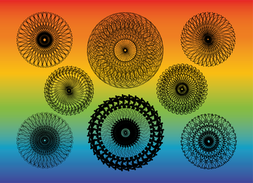 Kaleidoscope Vectors