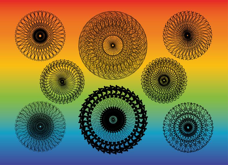 Kaleidoscope Vectors