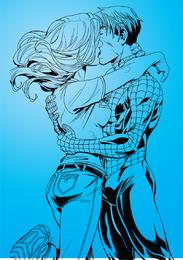 Homem aranha e gatinho