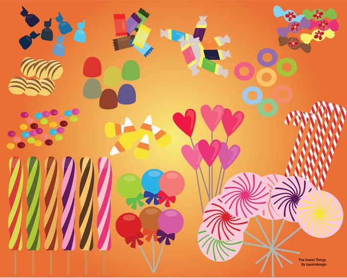 Sweet Candy Set