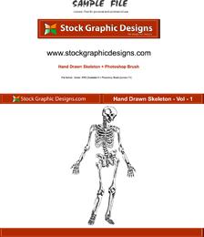 Hand Drawn Skeleton