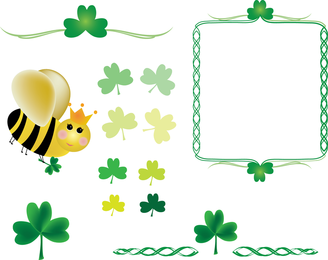 Shamrocks And Queen Bee Pack