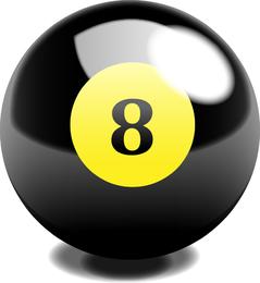 Snooker Bola Vector