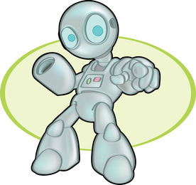 Space Robot Vector 4