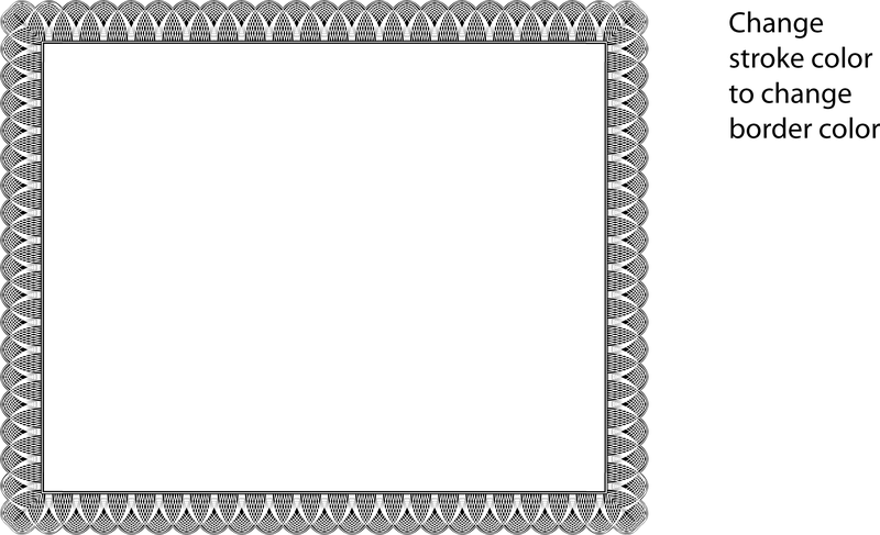 Certificate Border Vector Vector download – Certificate Borders Free Download