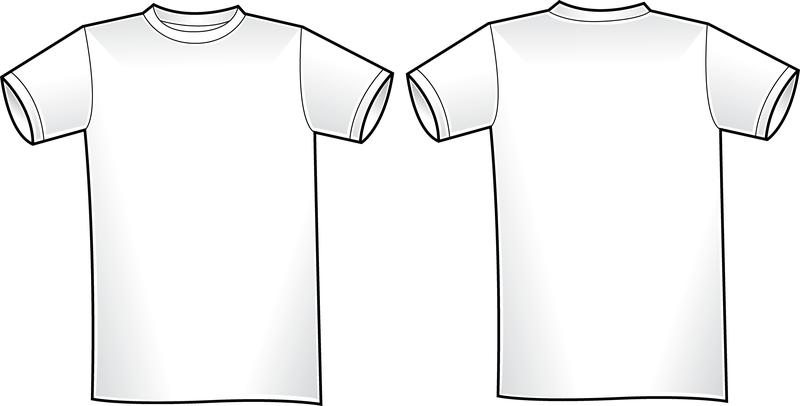 Plantilla de la camisa del vector T 2 - Descargar vector
