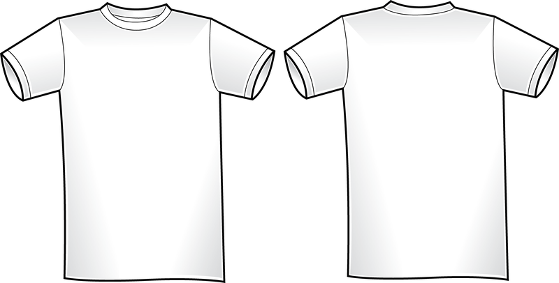 Vector t shirt template 2 vector download for T shirt templates vector