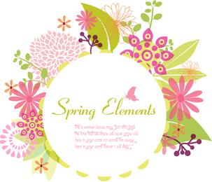 Marco de primavera