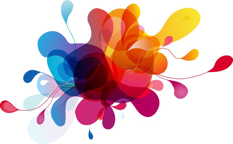 Colorful Vector Bubbles Design - Vector download