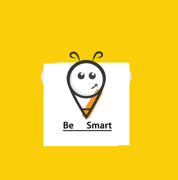 Free Vector Bee Smart T Shirt Design