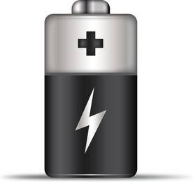 Free Vector Battery Icon
