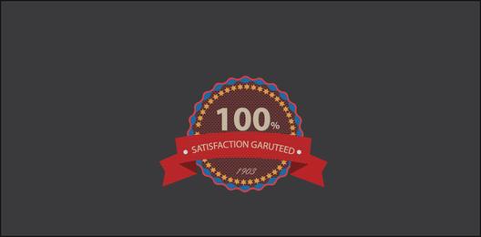 Etiqueta de Satisfacción