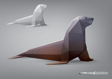 The Facades Body Animal Models 02 Vector