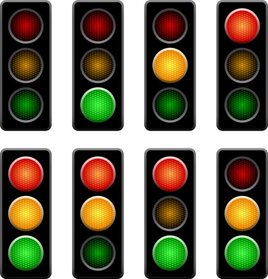 Traffic Lights 01 Vector