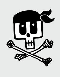 Q Skull Vector