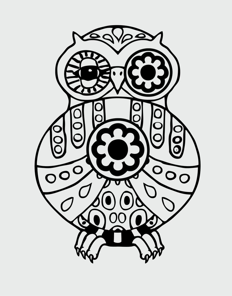 Owl Vector - Vector download