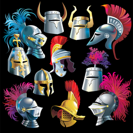 Vector Samurai Helmet