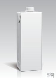 White Packing Model 05 Vector
