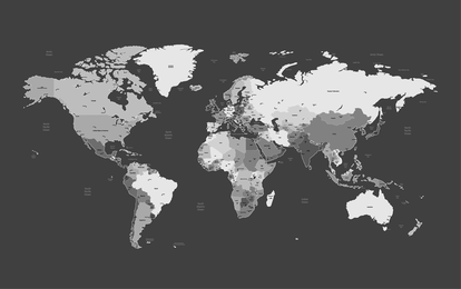 Mapa del mundo 01 Vector