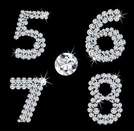 Diamond Digital Vector