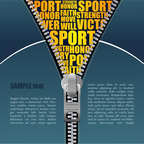 Cable Zipper Vector 1