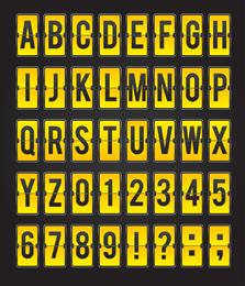 Diferentes Letras 04 Vector