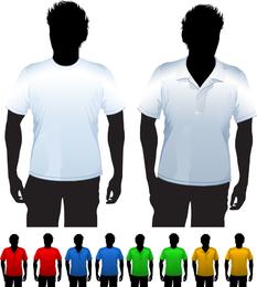Clothes Template 24 Vector