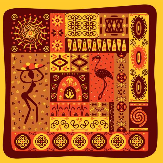Classical Tribal Totem Vector 2