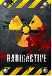Nuclear Warning Signs 02 Vector