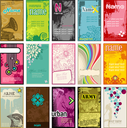 Beautiful Card Template Vector Fashion