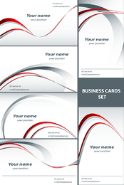 Simple Line Card Template Vector