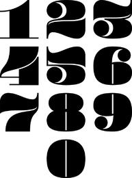 Diseño de fuente de Wordart