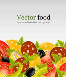Comida rápida 03 Vector