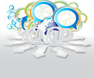 Business Concept Dialog Trend Vector 5